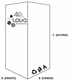 Boceto Dimensiones Caja